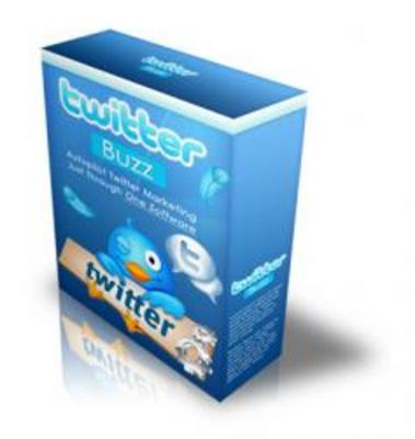 Product picture Twitter Buzz Software!!