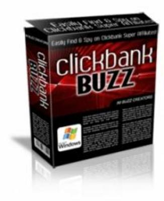 Product picture **New Click Bank Buzz**