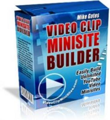 Product picture **Video Clip Mini Site Builder**