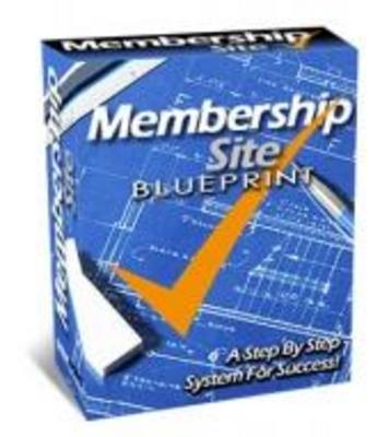 Product picture **New Membership Site Blueprint **