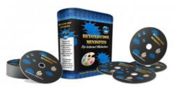 Product picture **Brand New Beyond Cool Minisites **