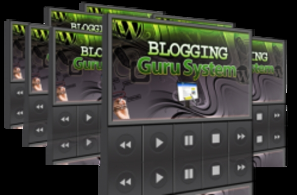 Product picture **Brand New Blogging Guru System PLR Video 7 Videos**