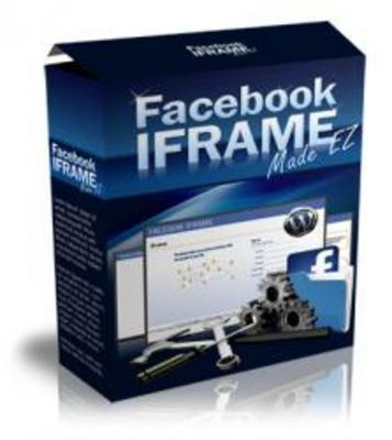 Product picture **Brand New Facebook iFrame Made EZ Software**