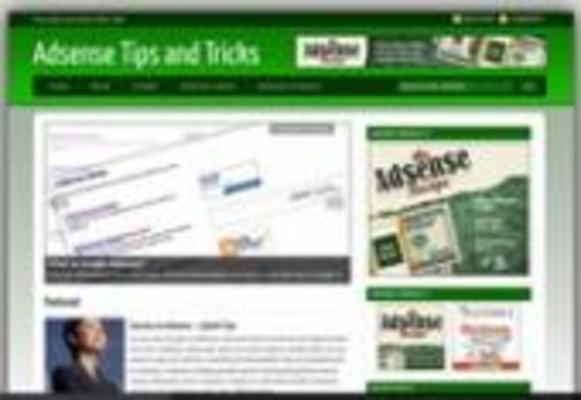Product picture **Brand New Wordpress Monitized Adsense Blog Template**