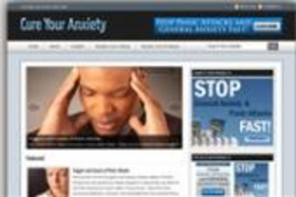 Product picture **Brand New Wordpress Anxiety Blog Template**